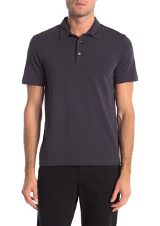 Theory Bron Cardasis Solid Short Sleeve Polo