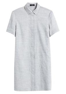 Theory Button-Down Shirtdress