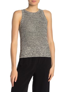 Theory Cable Wool Paper Blend Sleeveless Sweater
