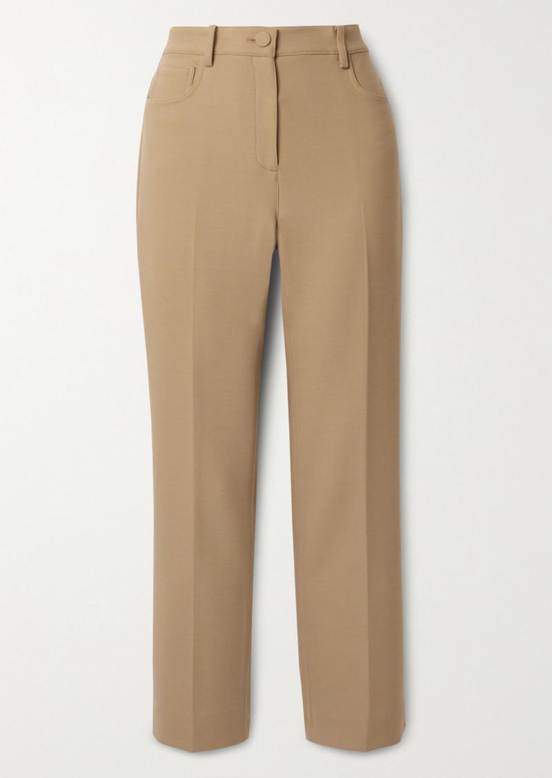 Theory Canton Crepe Straight-leg Pants