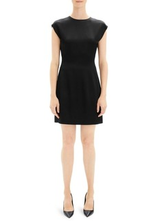 Theory Cap Sleeve Mini Dress