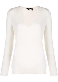 Theory cashmere Adrianna V-neck sweater
