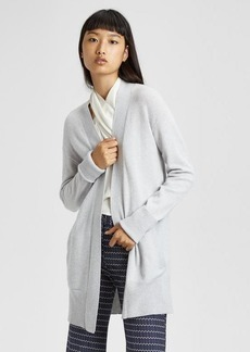Theory Cashmere Relaxed Open-Front Cardigan