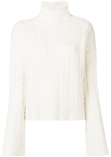 Theory cashmere roll neck jumper