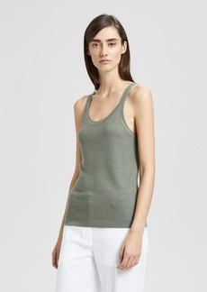 Theory Cashmere Scoop-Neck Tank
