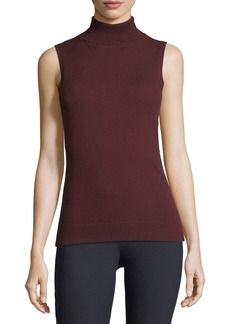 Theory Cashmere Turtleneck Shell Top