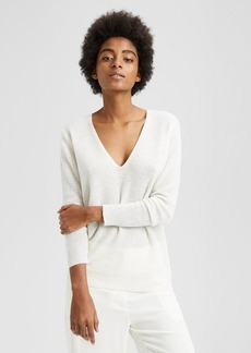 Theory Cashmere V-Neck Sweater