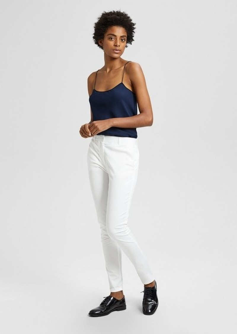 Theory Casual Twill Boyfriend Pant