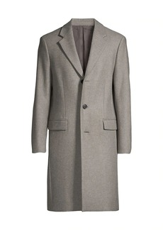 Theory Chambers Longline Wool Coat