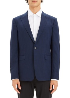 Theory Chambers One Button Blazer