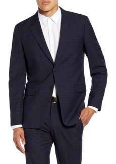 Theory Chambers Thurlow Slim Fit Check Wool Sport Coat