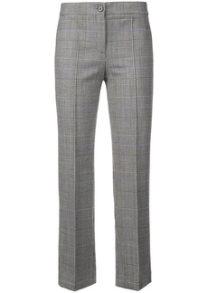 Theory checked tailored trousers