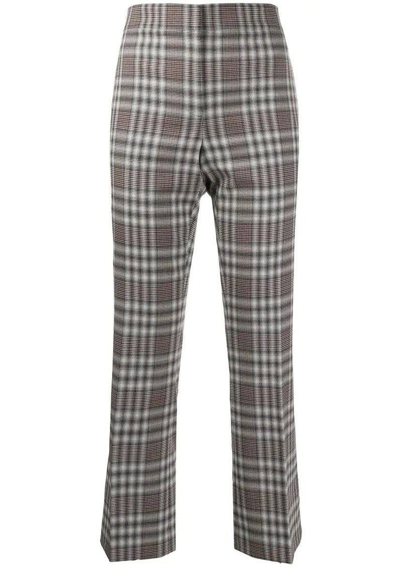 Theory checked trousers