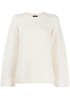 Theory chunky knit raglan jumper