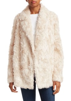 Theory Clairene Faux Fur Teddy Coat