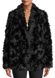 Theory Clairene Jackson Faux-Fur Jacket