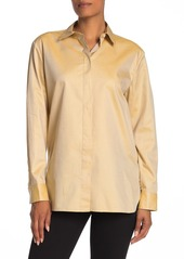 Theory Classic Button Front Shirt