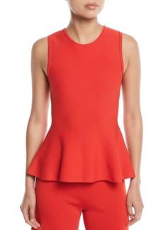 Theory Classic Lustrate Peplum Top