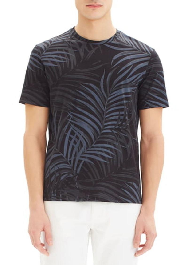 Theory Palm Leaf Print T-Shirt