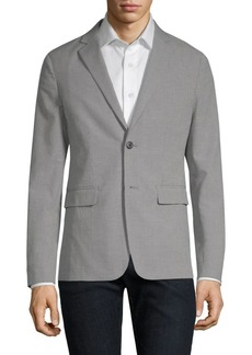 Theory Clinton Hounstooth Blazer