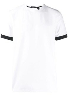 Theory contrast cuff T-shirt