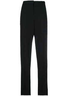 Theory contrast fitted trousers