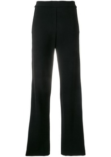 Theory contrasting stripes trousers