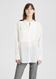 Theory Cotton Bib Shirt