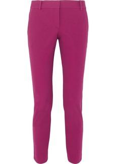 Theory Cotton-blend Twill Slim-leg Pants
