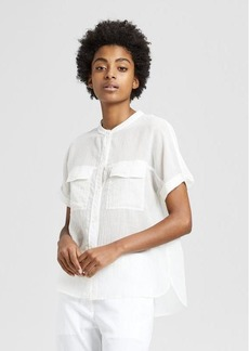 Theory Cotton Cargo Shirt