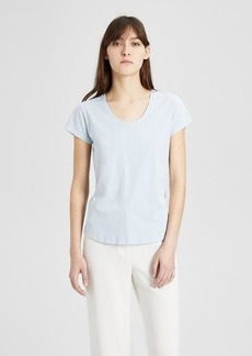 Theory Cotton Easy U-Neck Tee