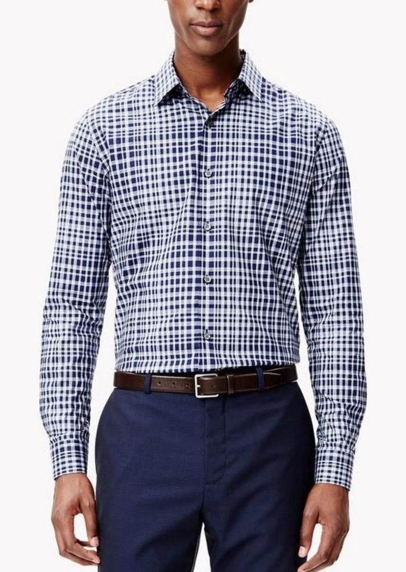 Theory Cotton Gingham Shirt