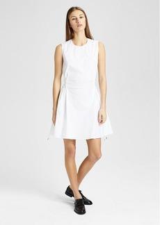 Theory Cotton Laced Shift Dress