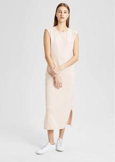 Theory Cotton Muscle Pocket Dress