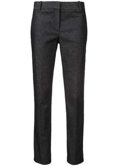 Theory creased cropped trousers