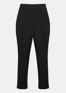 Theory Crepe Carrot Pleat Pant