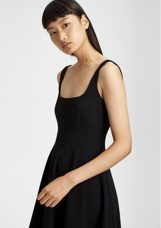 Theory Crepe Modern Flare Dress