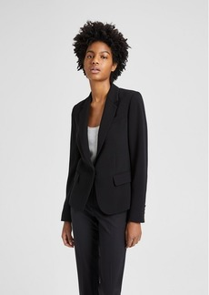 Theory Crepe Structured Gabe Blazer