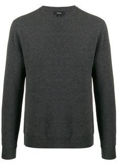 Theory crew-neck cashmere jumper