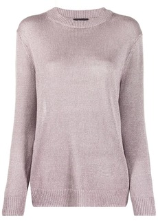 Theory crew-neck knitted jumper