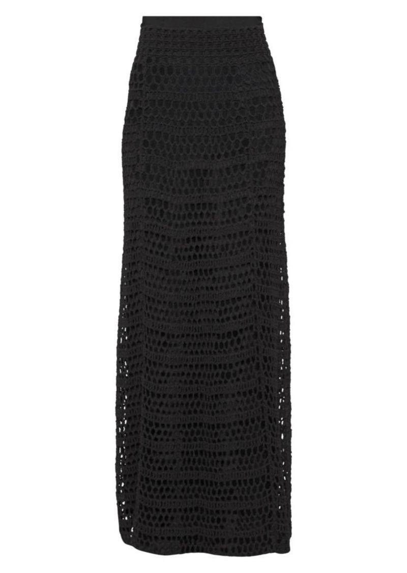 Theory Crochet Skirt