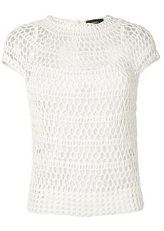 Theory crocheted T-shirt