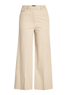 Theory Cropped Cotton Pants