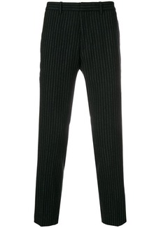 Theory cropped pinstripe trousers