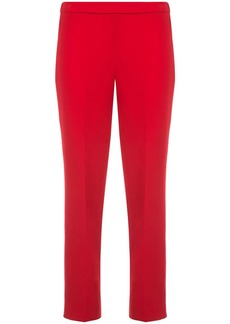 Theory cropped pull-on trousers
