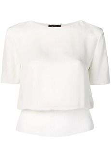 Theory cropped stretch T-shirt