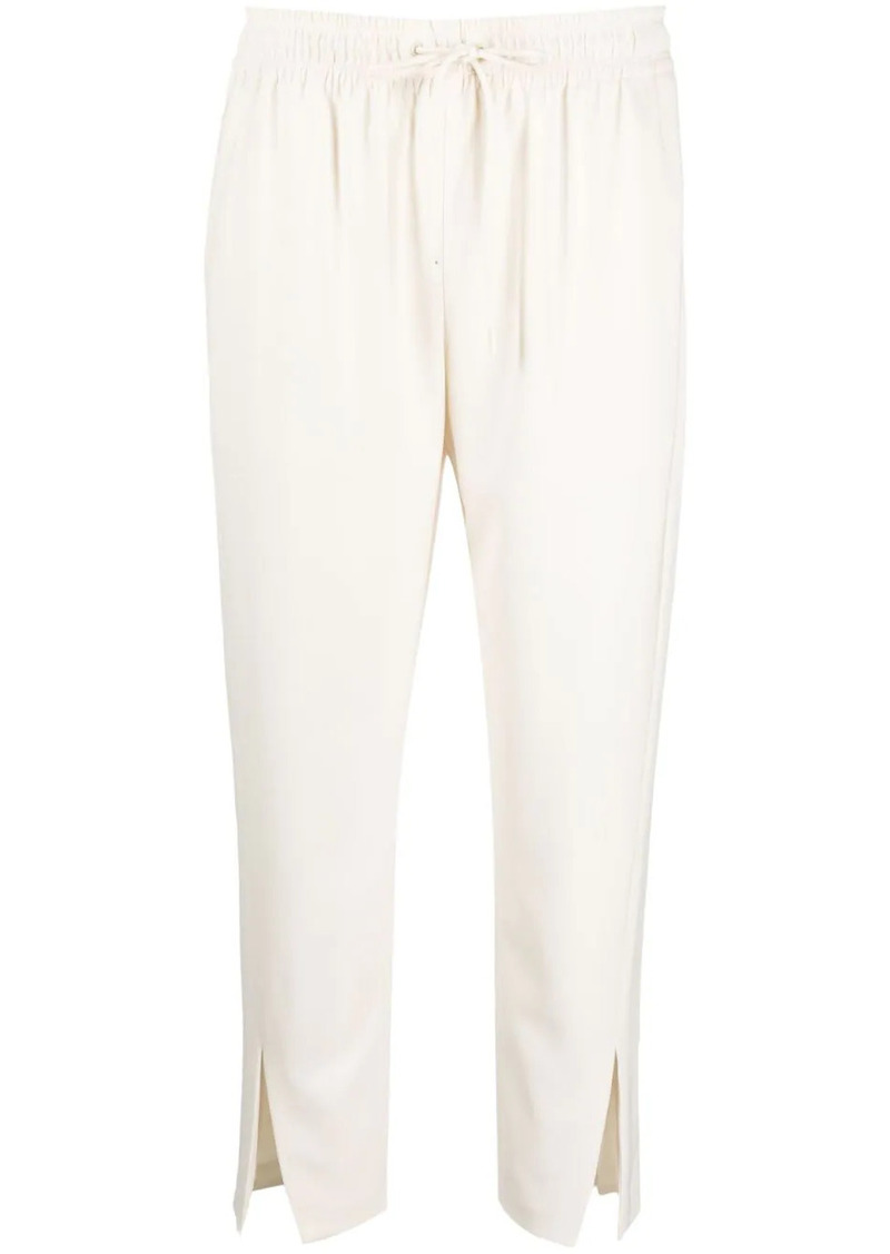 Theory cropped tracksuit bottoms