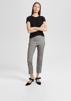 Theory Crunch Linen Basic Pull-On Pant
