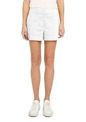 Theory Crunch Wash Linen Shorts