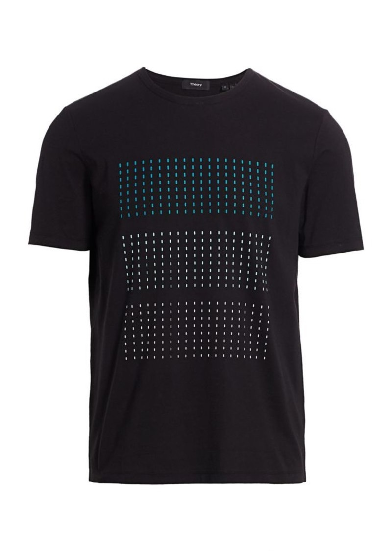 Theory Dash Graphic Jersey T-Shirt